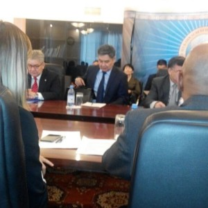 Meeting of Kazakhstan-American joint commission for Scientific-technical cooperation