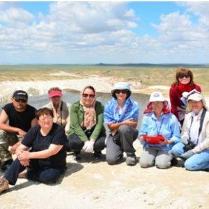 Полевые исследованиях в рамках проекта  «Разработка паспортов уникальных природных объектов Мангыстауской области»
