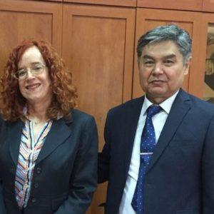 Институт географии посетила региональный представитель  по вопросам окружающей среды, науки, технологии и здравоохранения в Центральной Азии Посольства США