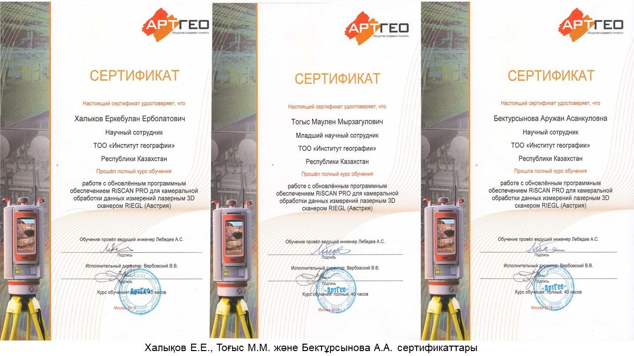 сертификат каз