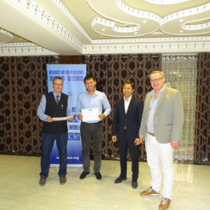 THE ORGANIZATION FOR SECURITY AND COOPERATION IN EUROPE (OSCE) ORGANIZED A COMPETITION AMONG PHD STUDENTS FROM CENTRAL ASIA TO ATTEND THE SEMINAR OCTOBER 25-29, 2018 DUSHANBE.