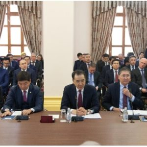 Қазақстан Республикасының Премьер-Министрі Б. Ә. Сағынтаев ғылыми ұйымдар мен ЖОО-ның жас ғалымдарымен кездесуі