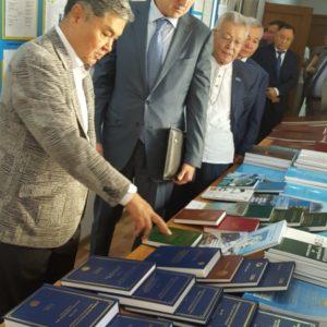 «Институт географии» посетил Министр экологии, геологии и природных ресурсов