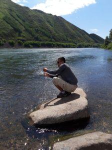 Река Ертис – выше города Оскемен
