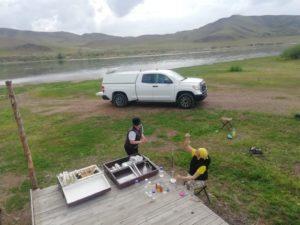 Анализ первого дня на реке Иле, гидрологический пост  37 км ниже Капчагайской ГЭС