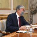 Глава государства принял председателя правления АО «Институт географии и водной безопасности» Ахметкала Медеу