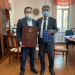 The Visit of Vice Minister of Ecology, Geology and Natural Resources of the Republic of Kazakhstan S.S.Kozhaniyazov